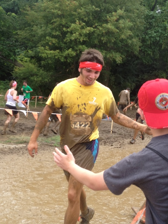 Cuz, Louie's First Mud Run - He loved it! - Down & Dirty Mud Run